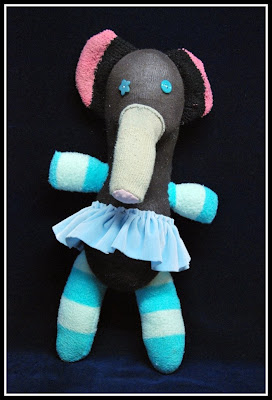Beatrice the Ballerina Elephant