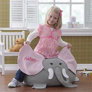 Elefántos babzsák