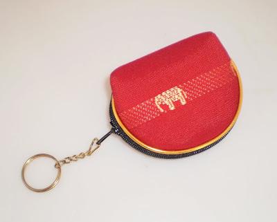 Elefántos kulcstartós pénztárca
