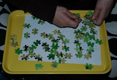 Elefántos kis Puzzle