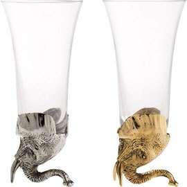 Elefántos pezsgőspohár