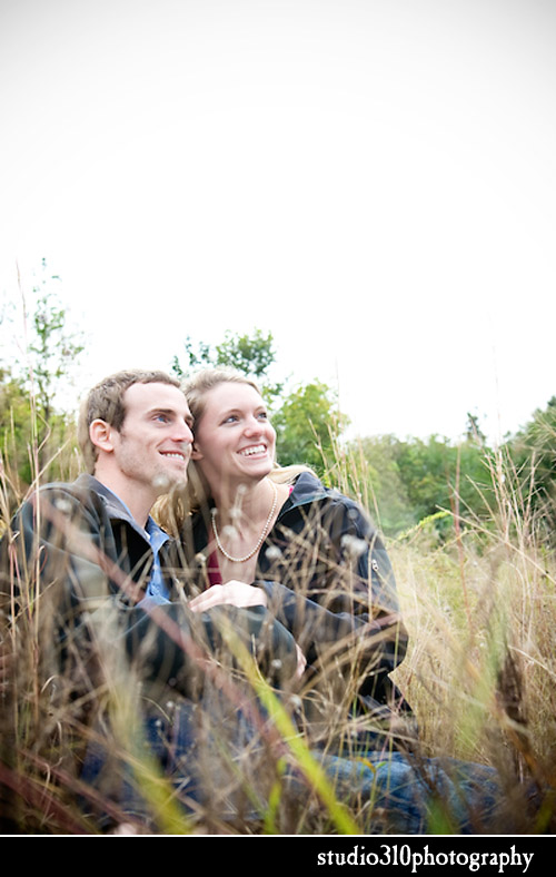 engagement portraits by photographer amanda dengler in smithfield north carolina