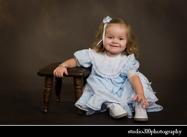 kid's studio portrait photography in north carolina