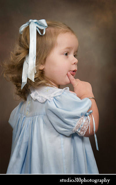chirldren's studio portraits by studio 310 photography in smithfield nc