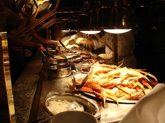 Buffets In Las Vegas. 7 Mandalay Bay Bayside Buffet