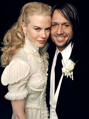 Nicole Kidman's Wedding dress alterations by M.W. Couture
