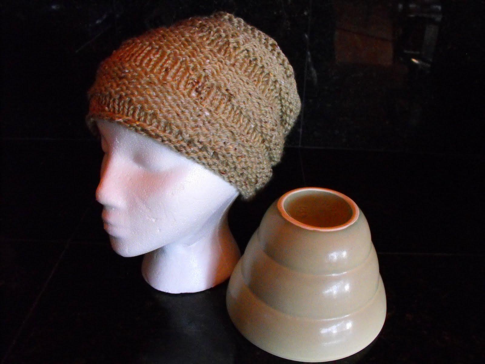 Knitting Yarn Bdo : Head knit wit flowerpot hat free pattern