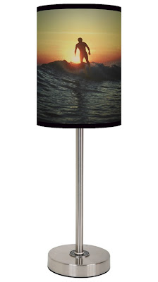 surfer style lamps