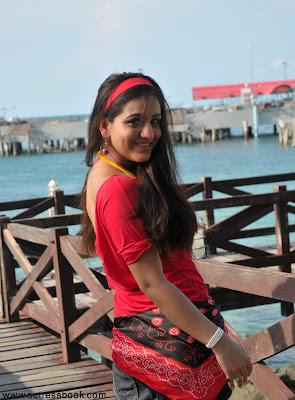 Telugu heroine Aksha latest cute beach stills, Aksha hot photos, Aksha hot beach stills