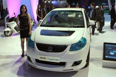 Auto Expo 2010: Suzuki unveils SX4 Hybrid Concept, plans for 2015 production