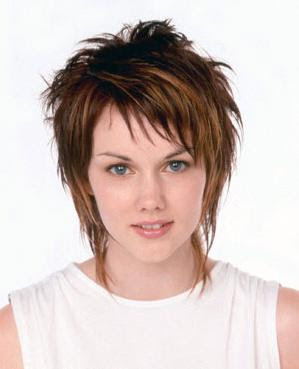 Short Medium Hairstyles on Shag Hairstyle For Medium Short Hair Jpg