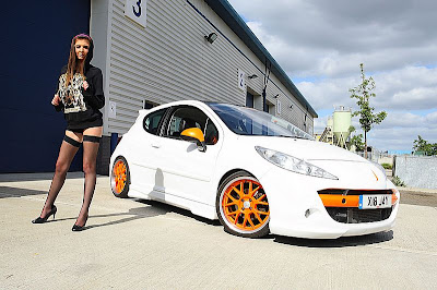 Modified Peugeot 207 Auto Modification Design Modification Bike