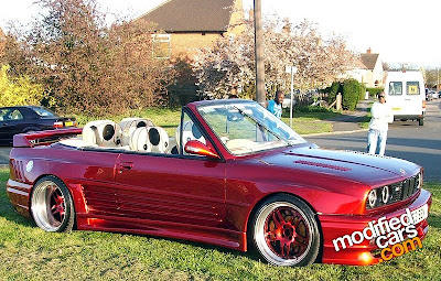 Bmw, Modified
