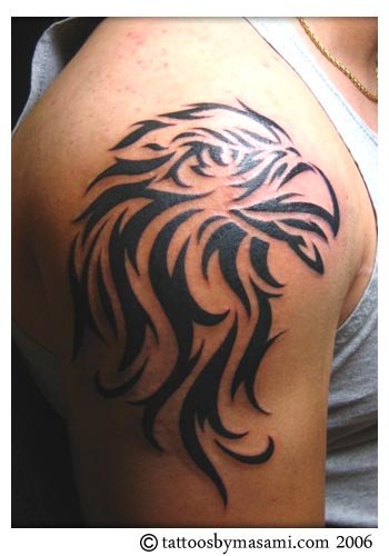 Free Tattoo Designs - Tribal Tattoo The Upper Arm
