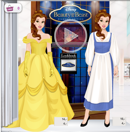 Fashion Stardoll ♥: vestidos de la bella y la bestia en stardoll...