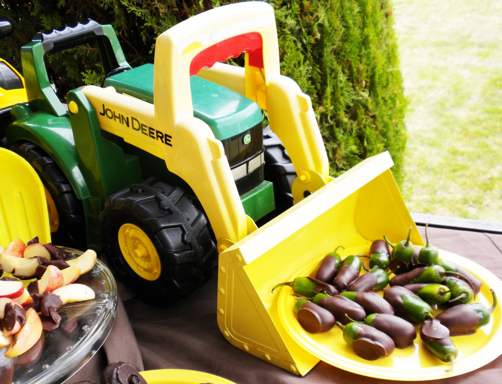alchemyjunk john deere themed baby shower
