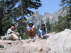 Kids in Rocky Mountains - 2002