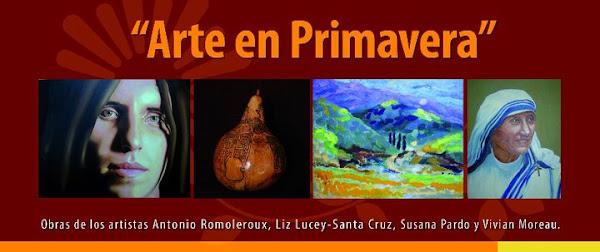 """Exposicion Colectiva """"Arte en Primavera"""" en la Galeria Cultural de CODELCO"""