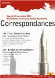 """""""CORRESPONDANCES"""""""