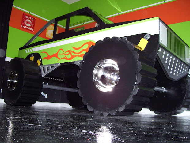 Monster Truck Twin Bed Size