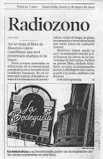 """NOTA DE INVITACION A LA PRESENTACION DEL LIBRO """"RADIOZONO"""""""