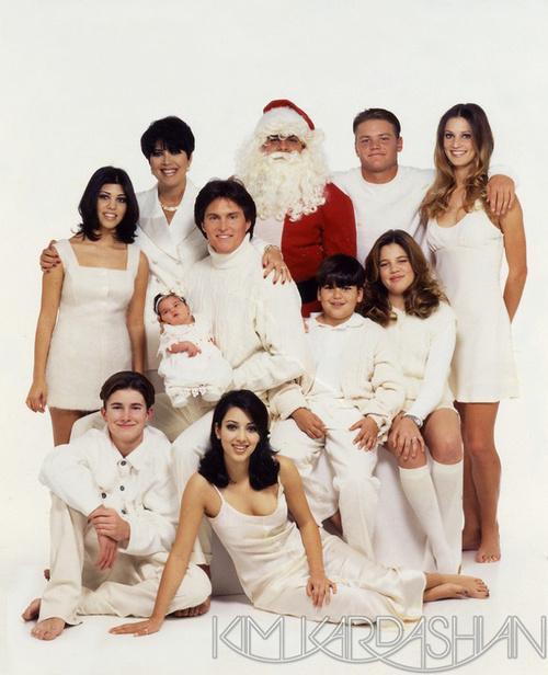 Kardashian Family Christmas Card