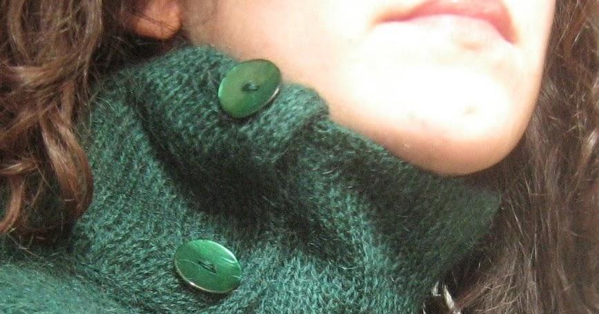 Creativita vita creativa maglia mohair green pull - Col foglio rosa posso portare passeggeri ...