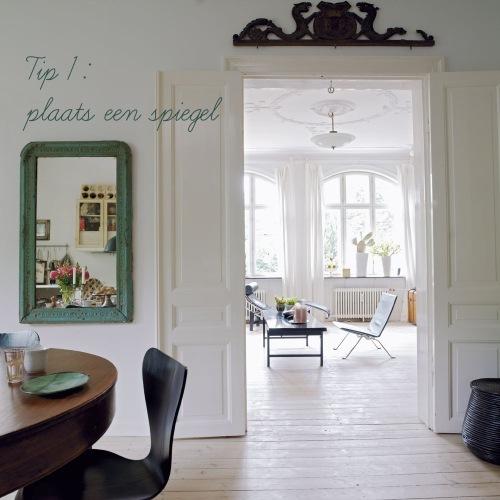 2010 05 villa d 39 esta interieur en wonen - Klein interieur ruimte ...