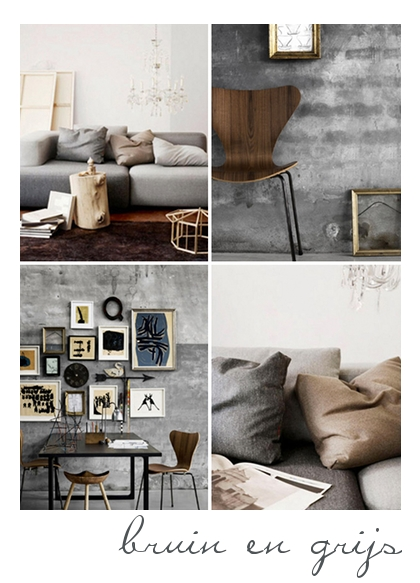 Interieur kleur inspiratie iki 04 villa d 39 esta for Bruin grijs interieur