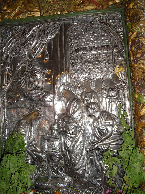 """Η θαυματουργός εικόνα """"Παναγίας της Κεράς""""απο το χωριό Μονή του Δημου Ανατολικού Σελίνου"""