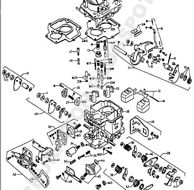 despieces y reglajes de carburadores holley  weber  solex