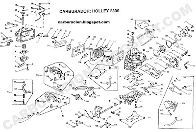 812935 Carburador Ford Topaz 1985