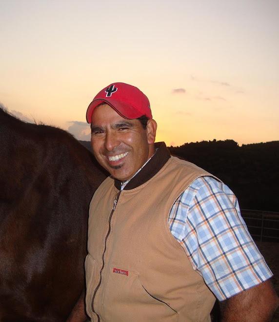 Juan Aguilar, super farrier