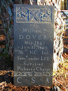 This is a tombstone I carved for my GGG Grandfather, who was a Confederate .