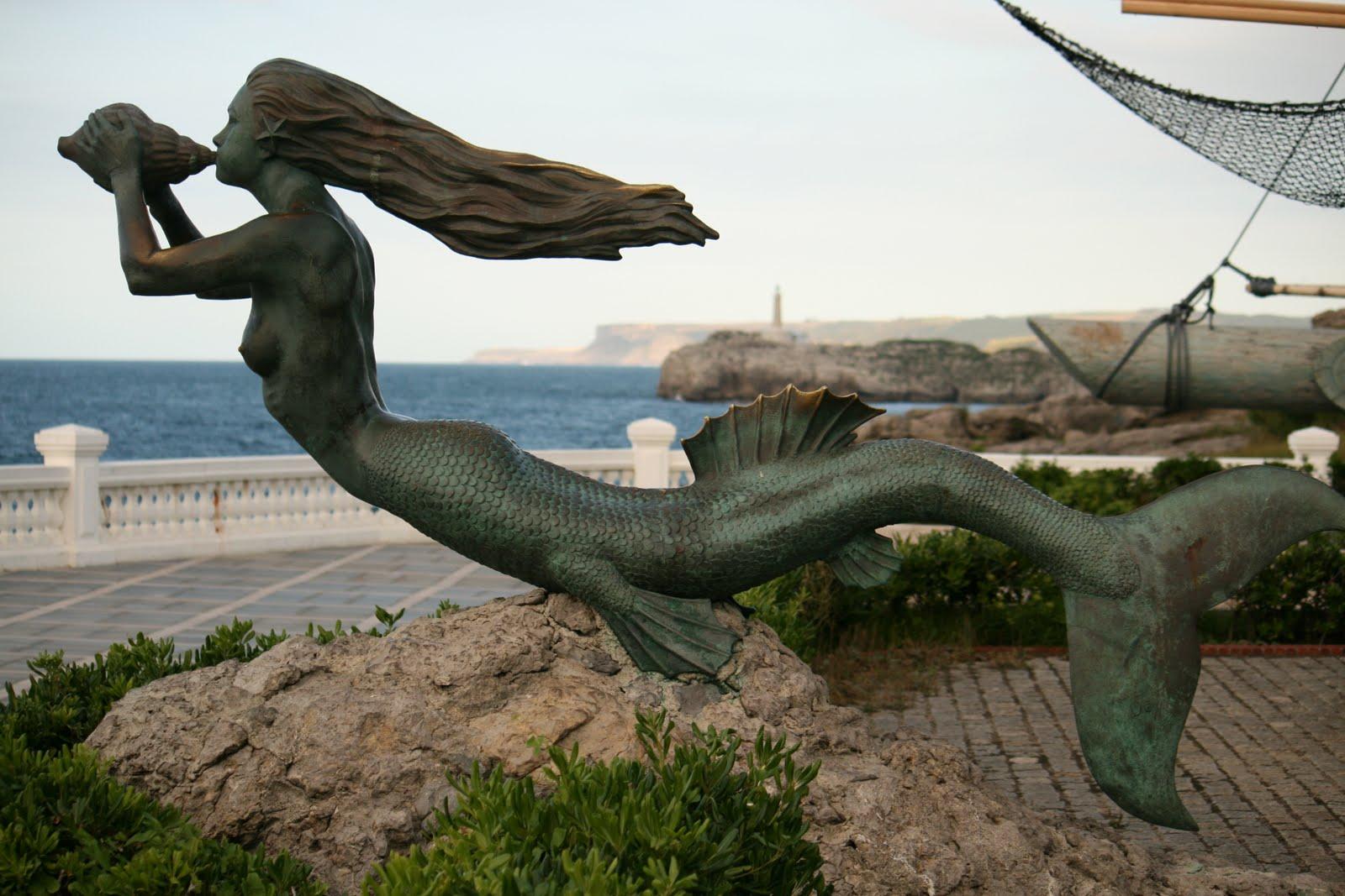 Sirena  y la novia del mar.