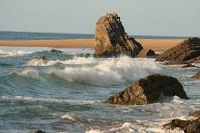 Rocas, arena y mar de los cántabros