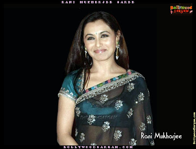 Rani Mukherjee Saree wallpapers