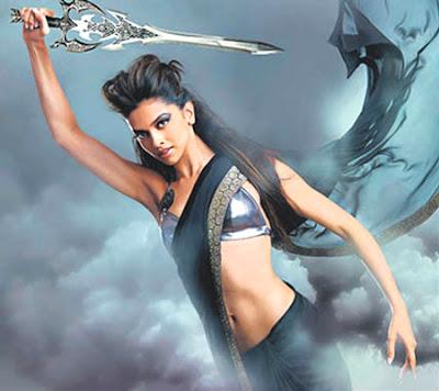 Deepika on Dabbo Ratnani's 2009 calendar