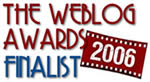 finalista the weblog awards 2006