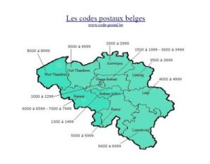 Argent or belgique et luxembourg codes postaux belges for Ardennes code postal