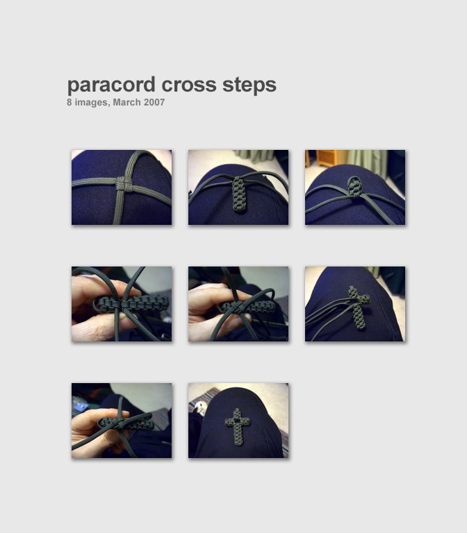 stormdrane 39 s blog paracord crown sinnet circle cross