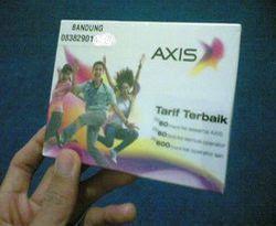 Axis Pusatkan Penambahan Jaringan di Jawa