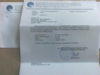 Contoh Surat Sample Uji Dalam Proses Sertifikasi