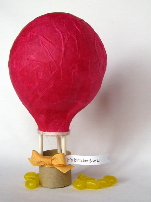 Witticisms tiny treats birthday for How to make a small air balloon