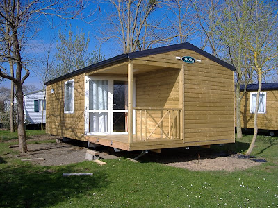 Mobile Homes  Sale on Here Are Some Pictures Of Our New Mobile Home O Hara Being Installed