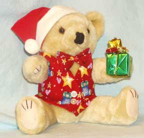 Mr. Christmas Bear has a gift for you!