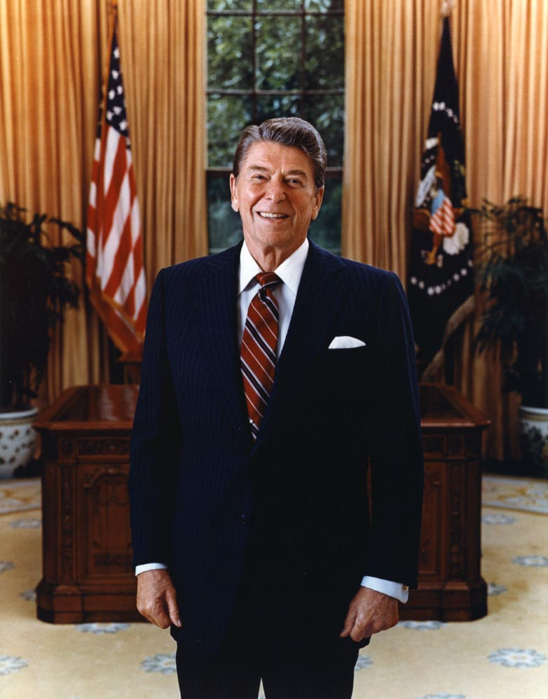 - Ronald-Reagan-1985