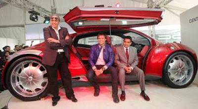 ... Oberoi Launches Dilip Chhabria's Imperator at Delhi Auto Expo 2010