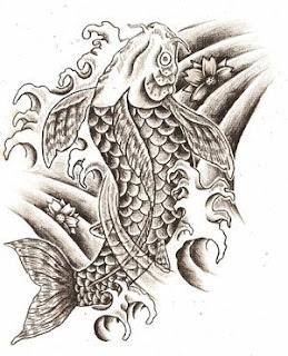 Amazing Art of Japanese Tattoos Especially Koi Fish Tattoo With Image Japanese Koi Fish Tattoo Designs Gallery Picture 6