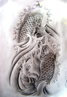 Amazing Art of Japanese Tattoos Especially Koi Fish Tattoo With Image Japanese Koi Fish Tattoo Designs Gallery Picture 7